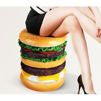 装饰家居软装饰家具创意汉堡凳子