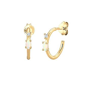 elli Pendulum earrings and Drop by Women Silver Stainless 925(1)