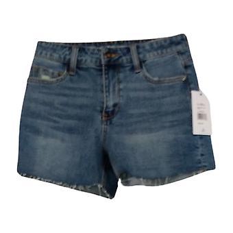 Sam Edelman Pantalones cortos de mujer Reg The Stiletto Shorts Blue A448976
