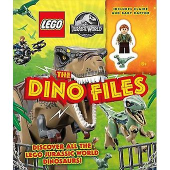 LEGO Jurassic World The Dino Files with LEGO Jurassic World Claire Minifigure and Baby Raptor