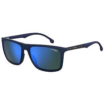 Carrera 8032/S FLL/XT Matt Blå/Blå Himmel Spegel Solglasögon