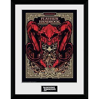 Dungeons & Dragons - Players Handbook Collector Print