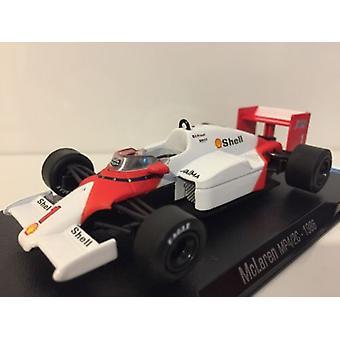 McLaren MP4-2C 1986 No 1 Alain Prost Legends of F1 Collection