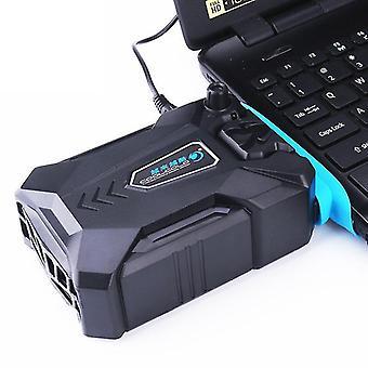 nou reglabil vid cooler usb aer exterior ventilator de răcire pentru laptop viteza sm47007