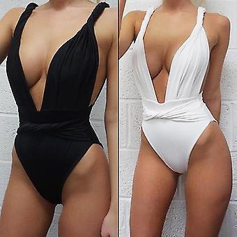 Nuevo sexy mujer bikini vendaje traje de baño de cintura alta Monokini beach trajes de baño
