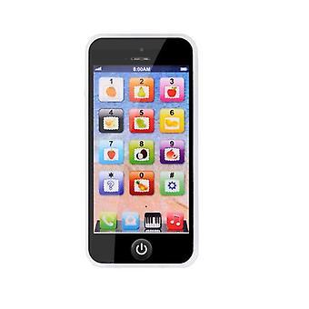 Baby Kid Edukacyjne, Telefon komórkowy z led telefon edukacyjny, angielski Learning