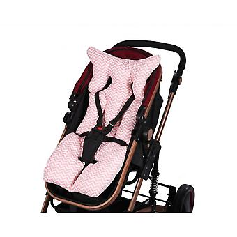 Baby Unisex Baby Car Seat Insert en Strap Covers, Lam, One Size