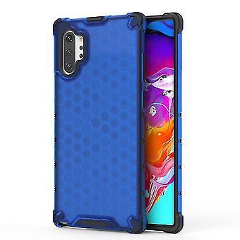 Samsung Galaxy Note 10 + / 10 Plus langlebig transparent TPU + Acryl Fall - blau