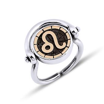 Biggdesign Leo Kvinders Sølv Ring