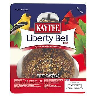 Kaytee Liberty Bell Wild Bird Treat مع بذور مفضلة تزرع في أمريكا للطيور البرية - 15 oz