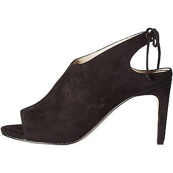 Cole Haan Women's Shoes Emmett bootie Leather Peep Toe Casual Mule Sandals