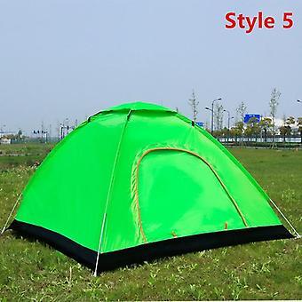 אוהל קיפול מחנאות חיצוני אוטומטי 2 אנשים חוף פשוט אוהל אוטומטי פתיחה מהירה