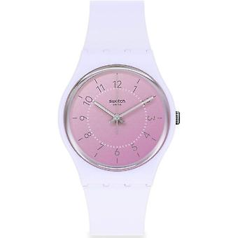 Swatch So28v100 Lilac Comfy Boost Ladies Watch
