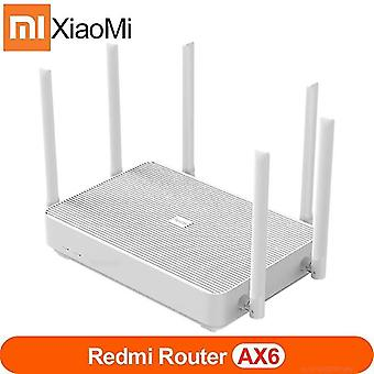 Wireless routers xiaomi redmi router ax6 wifi 6 mesh gigabit 2.4G/5.0Ghz dual band wireless router wifi repeater