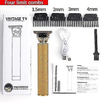 Hair clippers trimmers professional hair clippers barber haircut sculpture cutter rechargeable razor trimmer adjustable