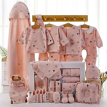 Baby Boy Girl 18/22 Pcs Clothes Suit Baby Gift Pure Cotton 0-12 Months Autumn And Winter Kids Clothes Unisex Without Box