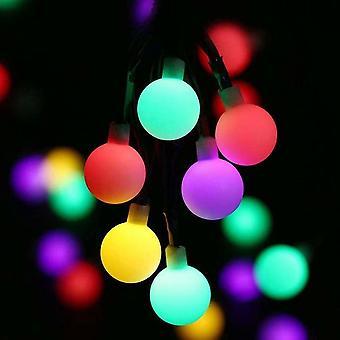 Aurinko led string valot (1 osa, 50 lampun helmiä