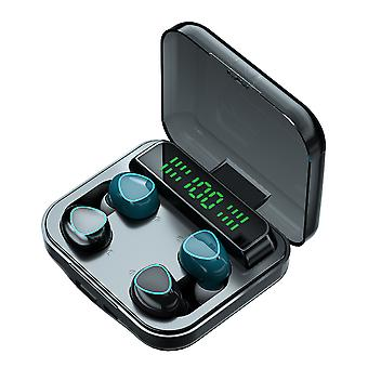 Couple Pair Of Headphones Wireless Bluetooth Headset Tws Touch Motion Digital Display Stereo Binaural Type-c