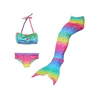 Mermaid For Swimming Mermaid Costume Bikini Set Girls Swimsuits