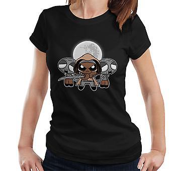 Shuffle en snijd Michonne Walking Dead Women's T-Shirt