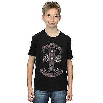 Guns N Roses jongens Appetite For Destruction Sepia T-Shirt