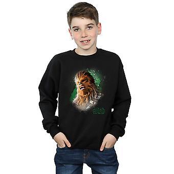 حرب النجوم الأولاد Chewbacca جدي آخر نحي البلوز