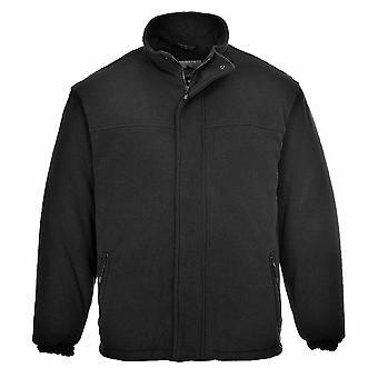Portwest - Yukon acolchoado Workwear quente formiga pílula velo jaqueta