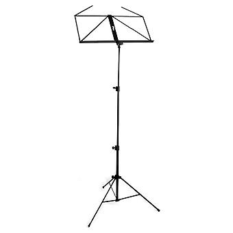 Tiger Portable Easy Folding Sheet Music Stand - Black