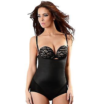 Esbelt ES603 ženy ' s Black firmy/Stredná kontrola chudnutie tvarovanie všetko v jednom tele