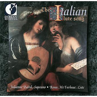 Baird/McFarlane - The Italian Lute Song [CD] USA import