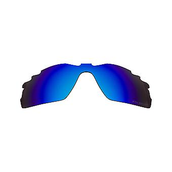 Polarized Replacement Lenses for Oakley Radar Pitch Sunglasses Blue Anti-Scratch Vented UV400 by SeekOptics