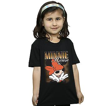 Disney Girls Minnie Mouse Bow Montage T-Shirt