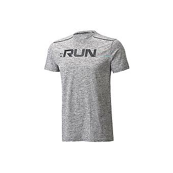 Under Armour Run Front Graphic SS Tee 1316844-001 Mens T-shirt