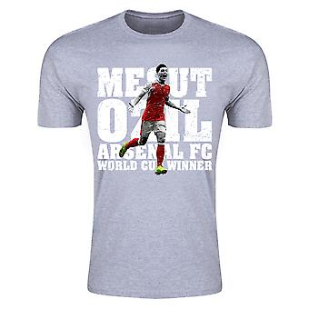 Mesut Ozil World Cup vinnare T-Shirt (grå) - barn
