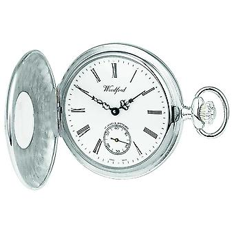 Woodford Silver 1/2 Hunter Pocketwatch 1067 Watch