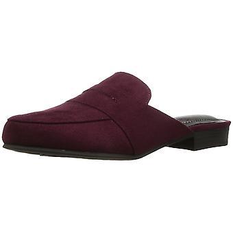 LifeStride Womens Samera Fabric Round Toe Casual Slide Sandals
