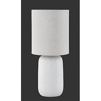 Trio Lighting Clay Modern Cappucino Ceramic Table Lamp