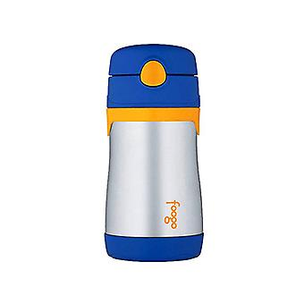 Thermos 290mL Foogo S/Steel Vac Insul Drink Bottle w/Straw