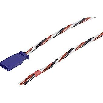 Servo-Lead [1x Futaba-Stecker - 1x Sony Xperia] 30,00 cm 0,35 mm2 Silizium-Modellbau