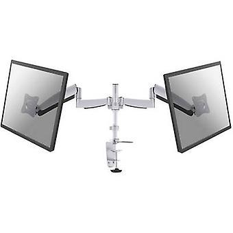 NewStar FPMA-D950D 2x Monitor desk mount 25,4 cm (10) - 68,6 cm (27) Tiltable, Swivelling, Swivelling