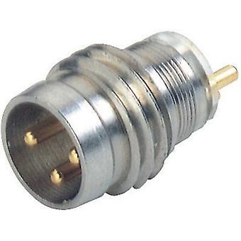Hirschmann 933 391-001 ELST 3308 RV KM dispositivo conector M8-sensores de metal, prata (metálico)
