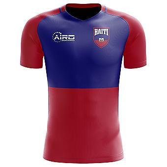 2020-2021 هايتي مفهوم المنزل لكرة القدم قميص (أطفال)