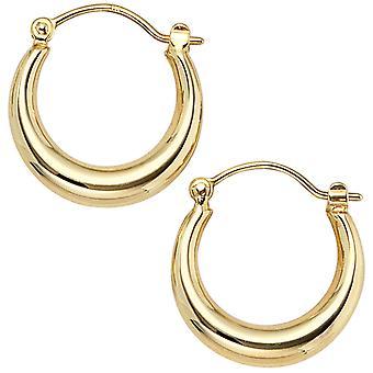 Hoops 333 gold yellow gold earrings gold earrings gold