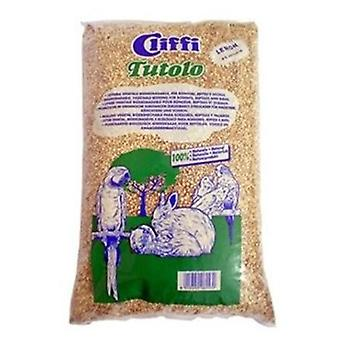 Cliffi Tuttolo Natural Corn Cob, 8 (Small pets , Hygiene and Cleaning , Bedding)