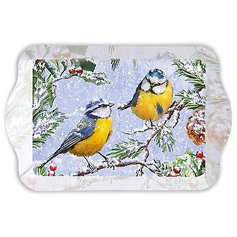 Ambiente Scatter Tray, Chirping Birds 15 x 23cm