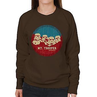 Felpa originale Trooper di Stormtrooper Mt Rushmore donna