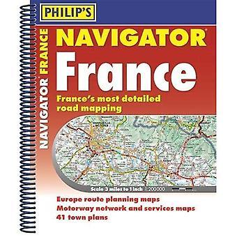 Philipps Navigator Road Atlas Frankreich