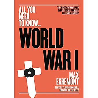World War One: The most catastrophic event in 20th century European history (All you need to know)