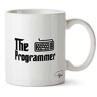 Hippowarehouse программист напечатаны Кубка керамическая кружка 10oz