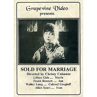 Sold for Marriage (1916) [DVD] USA import